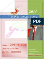 Adi Godrej Project