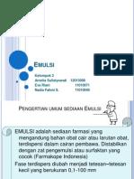 Emulsi-Non Steril