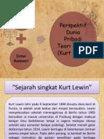 Kepribadian Kurt Lewin