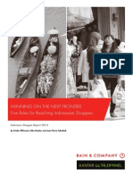 BAIN REPORT Winning on the Next Frontier Five Rules for Reaching the Indonesian Shopper