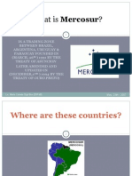 What is Mercosur? (and GWB's visit to Argentina in 2005)