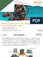 Diseño en Solidworks 2012