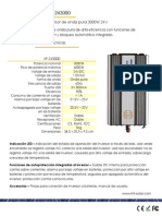 Inversor Inti 3000w Ficha