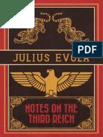 Julius Evola - Notes on The Third Reich