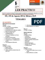 Temario Taller Medicina Estética Agosto