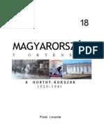 Püski Levente - Magyarország Története 18. - A Horthy-korszak 1920-1941