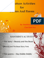 Literature Activities for Poems and Stories