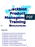 Blackblot Product Management Training Program