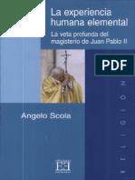 La Experiencia Human Elemental - Angelo Scola