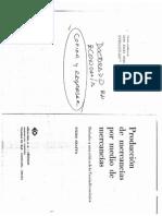 6 - Producción de Mercancías Por Medio de Mercancías - Piero Sraffa
