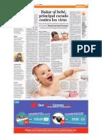 Bañar Al Bebé Pricipal Escudo Contra Los Virus