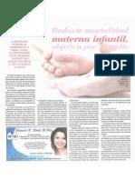 Reducir Moralidad Materna Infantil Objetivo Por Cumplir