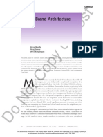b2b Brand Architecture
