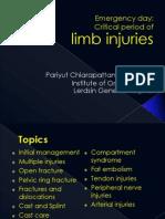 Pariyuth-Limb Injuries for EMed