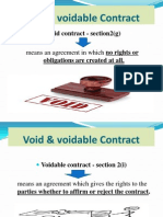 (6) Contract -Consent of Parties
