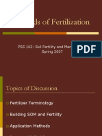 Methods of Fertilization