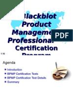 Blackblot Product Management Professional™