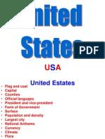 Trabajo de Inglés Estados Unidos