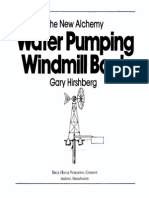Waterpumping Windmill Book Nai 1982