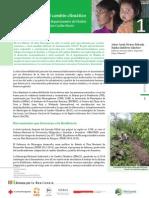 Estudio de caso 1 - Paso a Paso en la adaptación al cambio climático en cuatro municipios del departamento de Madriz y la Región Autónoma Costa Caribe