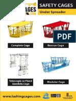 Safety Cages Under Spreader