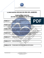 Tarifa- Portos RioNiteroi