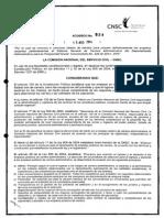 Acuerdo 524 de 2014