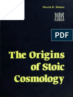 The Origins of Stoic Cosmology