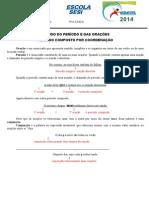 Exercícios Sobre Período Composto Por Coordenaçãoe Subordinação - 03052013 - Manhã e Tarde