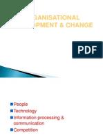 Organisational Change Development