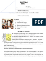 Orientações Para Uma Boa Redação - Dicas Para o ENEM - 06042013