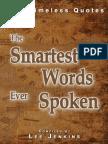Smartest Words