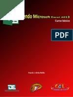 Aprendiendo Microsoft Excel 2013 Curso b Sico