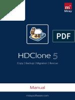 Manual Hdclone 5