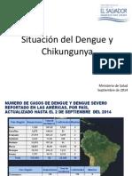 Situacion Del Dengue y La Chingungunya
