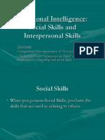 CS4-Social Skills and InterPersonal Skills