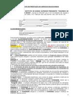 Contrato PROUNI 2º 2014 Direito