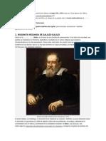 Galileo Galileifue un físico y astrónomoitaliano delsiglo XVIyXVII.docx