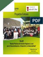 Proyectos d Desarrollo Social