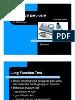 tes fungsi paru
