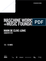 DJLAB Music Foundations & MASCHINE Workshops 2014