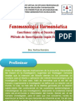 fenomenologahermenuticadeheidegger-130917140445-phpapp02
