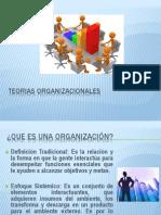 TEORIAS ORGANIZACIONALES
