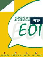 Modelos Pruebas Eoi Ingles