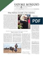 L´OSSERVATORE ROMANO - 26 Septiembre 2014.pdf