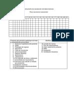 Instrumento de Recolección de Datos Factores