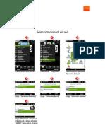 Seleccion Manual de Red en Windows Mobile 6.11