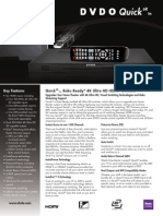 DVDO Quick6R Product Brief
