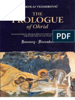 Sinaksary - Prolog From Ohrid by Bishop Nikolai Velimirovich