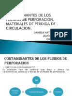 Contaminantes de Los Fluidos de Perforacion